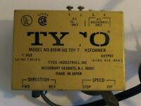 Vintage Train Toy Transformer TYCO HO Model 899M Railroad