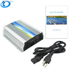 22-50V 300W Mirco Grid Tie Inverter For Solar Panel Pure Sine Wave W/ Cord US