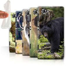 Housses et coques anti-chocs noir Sony Xperia L pour téléphone mobile et assistant personnel (PDA)