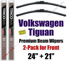 Wipers 2-Pack Premium Beam Wipers - fit 2009-2017 Volkswagen Tiguan 19240/210