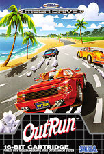 ## Out Run - SEGA Mega Drive / MD Spiel - TOP ##