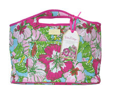 LILLY PULITZER Oversized Insulated Beverage Bucket BIG FLIRT EVA Beach Tote NEW