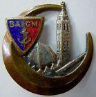 Bataillon Autonome Infanterie Coloniale Maroc 1939 insigne Drago béranger émail