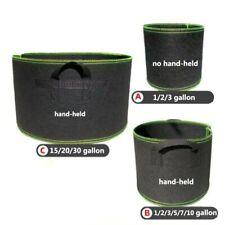 1-20 gallon Tree plant Grow Pots Bags growing garden tools fabric flower pot