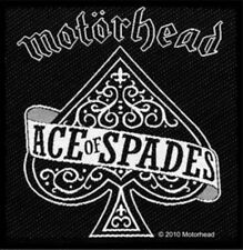 Motorhead Ace Of Spades Woven Patch M008P Iron Maiden Rancid Budgie Ramones
