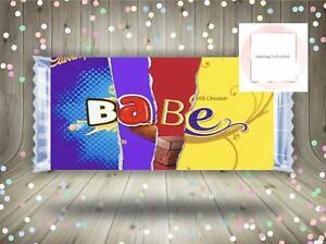 Rude Chocolate Bar Wrapper Adult Novelty Valentines Gift Funny Joke