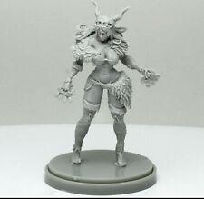 Pinup Primal Huntress Model for Kingdom Death Game Resin Figure Recast 30 mm