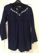 Girls Navy Blue Gypsy Style Top, Size Medium from Old Navy, California
