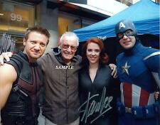 STAN LEE #2 REPRINT AUTOGRAPHED SIGNED PICTURE PHOTO 8X10 AVENGERS COLLECTIBLE