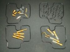 4x Honda CBR900 RR Fireblade 1992 - 1995 Carb Repair Kit / Overhaul Carburettor
