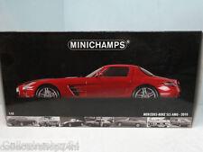 Minichamps : Mercedes SLS AMG 2010 Red metallic - 100039020