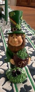 Male Saint Patrick Leprechaun Figurine:New