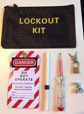 MCB RCD 6 Pc Miniature Circuit Breaker Lockout / Lock Off Consumer Kit