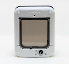 More details for cat mate microchip cat flap - white cat flap microchip for medium sized cats