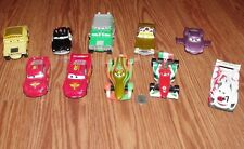 Disney Pixar Lot of 10 Cars Diecast Metal Large 1:43 Scale 1 2 3 Lightning