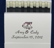 350 Personalized matchbooks wedding matches bridal shower custom printed favors