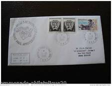 TAAF lettre 21/6/95 - timbres Yvert et Tellier n°163 et 188 (Z) (cy2)