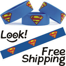 SUPERMAN Wristband Bracelet for Supermen and Superwoman Too Fast Free Shipping
