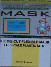 Eduard 1/48 EX141 canopy masque pour le hasegawa macchi MC.202 folgore kit
