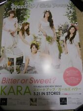 KARA [Speed Up -SweetVer.-] promo POSTER Japan Version Japan Limited!
