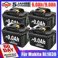 Für Makita BL1830 Akku 18V 9Ah 6Ah BL1860B BL1850B BL1840B LXT 194205-3 BL1890