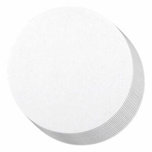 """12-Pack Round Cake Boards Cardboard White Cake Circle Base, 12"""" Diameter"""