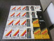 * Sony / Tdk / Kodak / Scotch / Fuji * Beta Format Vcr Tapes * Near Mint *