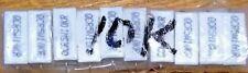 4 Pcs 10k Ohm 5watt Axial Wirewound Ceramic Cement Power Resistor 10k Ohm 5w