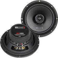 MB QUART QX 165 CF 16,5cm Koax Lautsprecher Paar für Daihatsu Terios