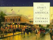 The Spirit of America by Thomas Kinkade Hardcover Book 1998 Paintings Scenery ++