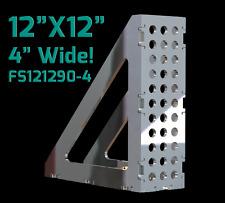 "CertiFlat FS121290-4 FabSquare 12""x12""x4"" - 90 Degree U-Weld Kit - Heavy-Duty"