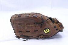 "Wilson A9662 FP4 LHT Leather Baseball Glove 12 1/2"" Custom Fit Monsta Web"