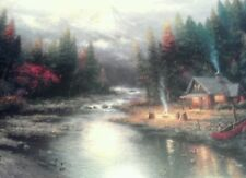 End of a Perfect Day II Print by Thomas Kinkade in 11 x14 Matte with COA