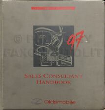 1997 Olds Color Upholstery Dealer Album Aurora Supreme Cutlass LSS 88 Regency