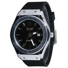 Jaragar Self-winding Automatic Men's Stainless Steel Mechanical Watch ED