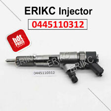 ERIKC Injection 0445110312 Car Fuel Injector Assy 0445 110 312 for BOSCH ANDORIA