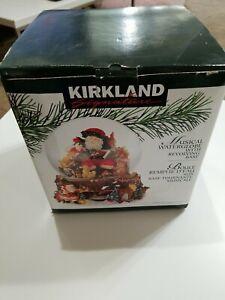 Kirkland Musical Waterglobe with Revolving Base item 109619 with Original Box