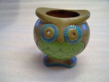 Owl Candle Holder 3.5 inches tall - set of 2