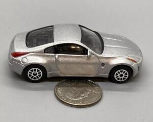 Realtoy Action City Nissan Fairlady Z 1:64 Silver Metal Diecast Car, Loose