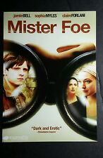 MISTER FOE BELL MYLES FORLANI  PHOTO MOVIE 5x7 FLYER MINI POSTER (NOT A movie )