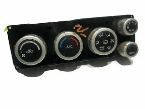 2004 05 06 Nissan Quest Heater Manual A/C Air Control Module Front Rear Vent OE