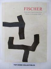Fischer Moderne & Zeitgenossische Kunst  2008  Catalog  Auction Galerie  Luzern