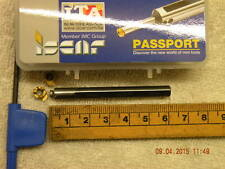 ISCAR Passaporto MGCH 06 6 mm Solido Carburo Di Scanalatura Fresatura Tool +2 inserti Iscar