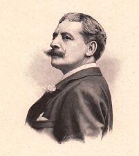 Portrait Victor Capoul Opera Ténor Toulouse