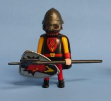 Playmobil Red Dragon Knight arma Escudo + + Castillo/paramos figura Medieval