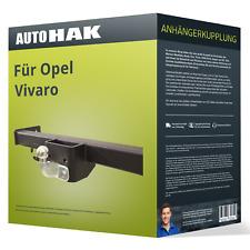 AHK Kpl. Für Opel Vivaro 01-06 Anhängerkupplung starr+ES 13p spez