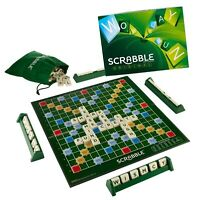 NEW - Original Scrabble Crossword Family Board Game Authentic by Mattel