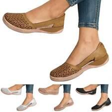 Womens Closed Toe Mules Orthopedic Sandals Ladies Breathable Flat Sliders Shoes