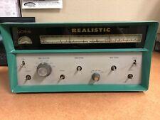 Vintage Realistic Gcr-6 General Coverage Am/Cw-Ssb Receiver