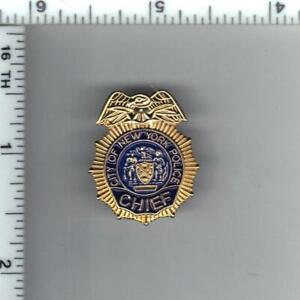 Police Chief's Novelty Lapel Pin